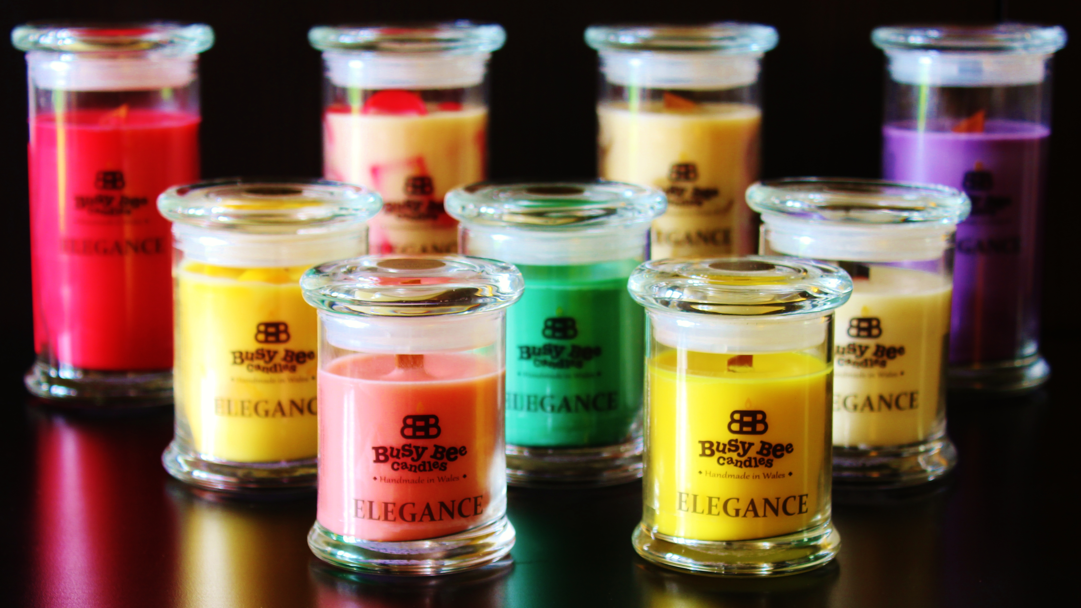 What Are Busy Bee Candles Elegance Scented Candles